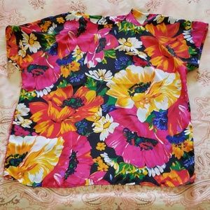 Vintage Floral Blouse (Impressions of California)
